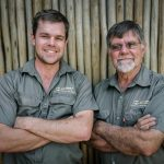 Bernd Meyer and Dieter Meyer from the Bendet Plant Hire company